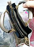 Брендова жіночий сумка Zara 26*25 см, бордо кожзам, фото 2