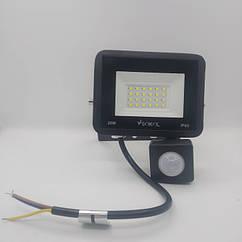 Led прожектор з датчиком руху SOKOL LED-SLT-20W