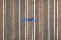 Мебельная ткань  рогожка FLAX STRIPE 03 (производитель Аппарель)