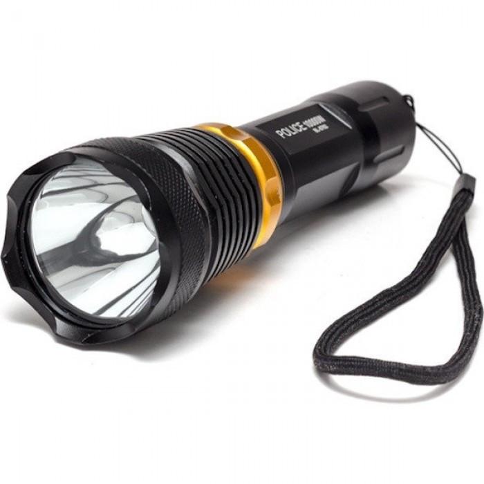 Підводний ліхтар BL 8762 XPE ліхтарик для дайвінгу, Чорний