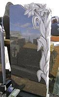 Памятник из гранита габбро ПГ - 025