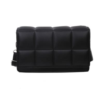 Модна жіноча сумка через плече - Чорний