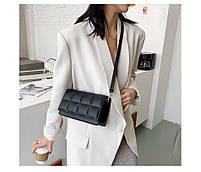 Модна жіноча сумка через плече - Чорний, фото 5