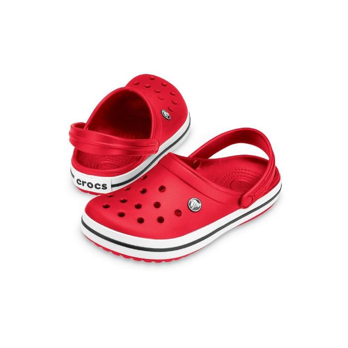 Женские кроксы Crocs Crocband красные 39 р.
