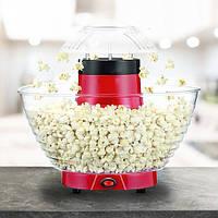 Аппарат для приготовления попкорна HAEGER 9001 XL Мощность 1200 Ватт, Большая чаша, Красная, фото 1