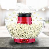 Аппарат для приготовления попкорна HAEGER 9001 XL Мощность 1200 Ватт, Большая чаша, Красная