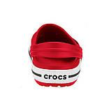 Кроксы мужские Crocs Crocband Clog красные 44 р., фото 2