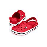 Кроксы мужские Crocs Crocband Clog красные 44 р., фото 3