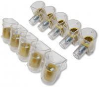Клеммники концевые (5x1) 10 мм
