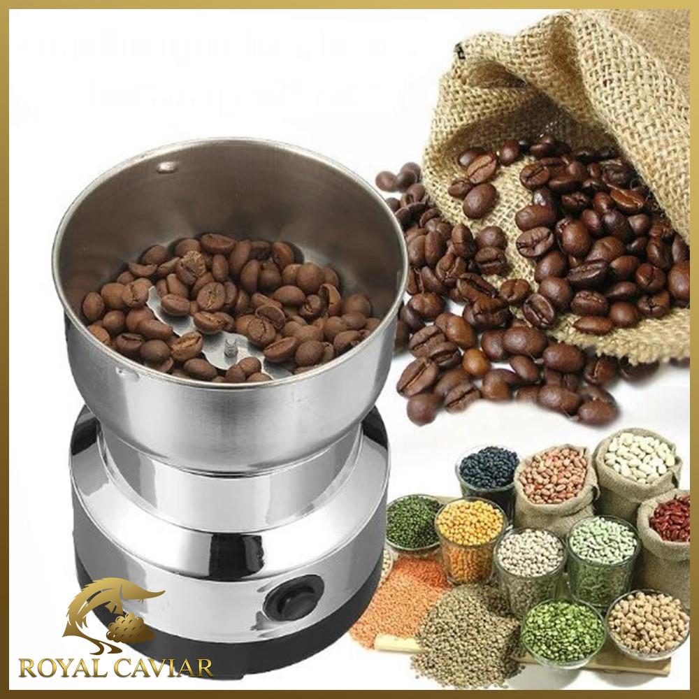 Кофемолка электрическая Nima кухонная роторная с ножами из нержавеющей стали
