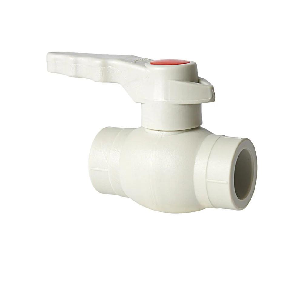 Полипропиленовый кран стальной  шар 20 мм Словакия Hydro Plastik