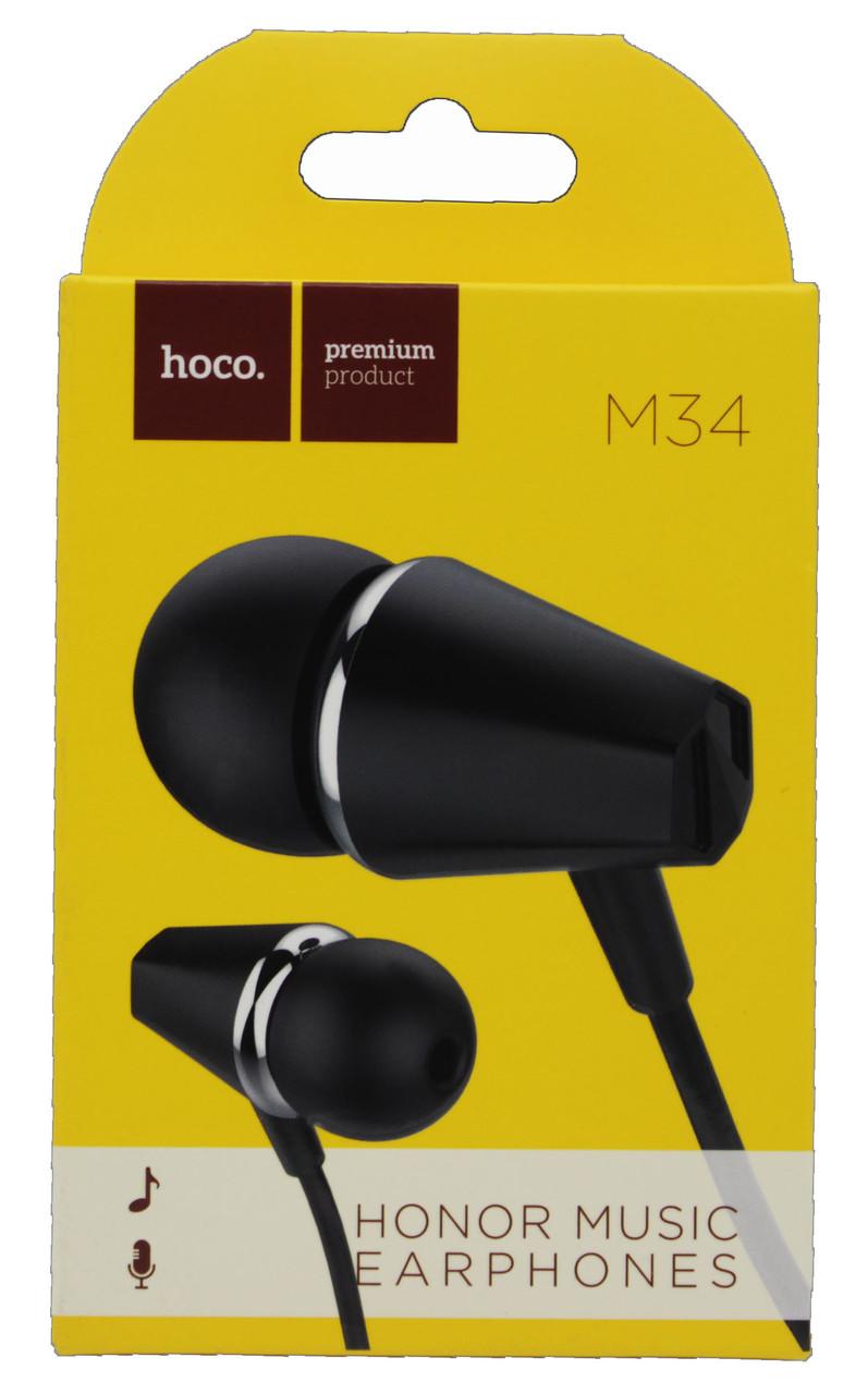 Наушники-гарнитура Hoco. M34 с микрофоном