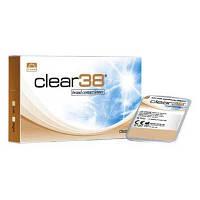 Контактные линзы на 3 месяца Clear 38 uv