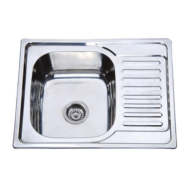 Мойка кухонная ZERIX Z6350-06-160E (satin) (ZM0561)
