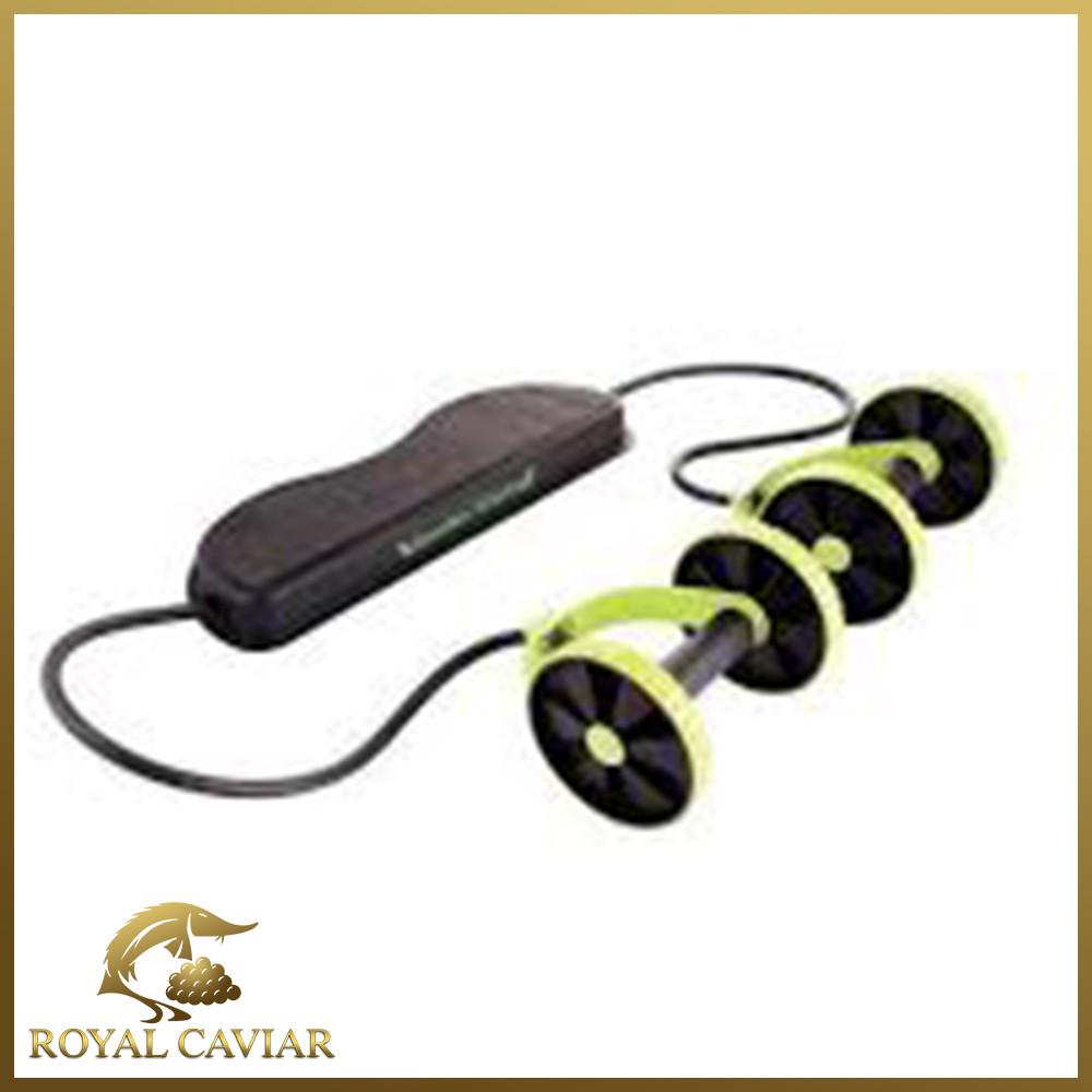 Фітнес колесо Revoflex Xtreme (W25), домашній тренажер для ніг, преса, сідниць, схуднення будинку.