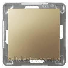 Вимикач однополюсний OSPEL IMPRESJA GOLD 250V/16A