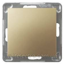 Выключатель однополюсный  OSPEL IMPRESJA GOLD  250V/16A