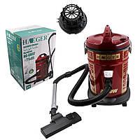 Строительный пылесос HAEGER для сухой уборки с контейнером и фильтром Мощность 2200 Ватт, Бак 25 литров Тихий, фото 1
