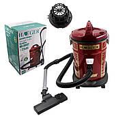 Строительный пылесос HAEGER для сухой уборки с контейнером и фильтром Мощность 2200 Ватт, Бак 25 литров Тихий