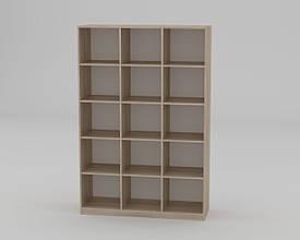 """Книжный шкаф (этажерка ) - """"КШ-3"""" Компанит"""