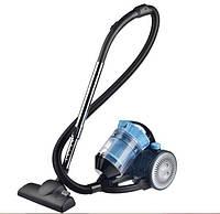 Контейнерный пылесос HAEGER 8666 1600 Ватт, насадки, Синий, фото 1
