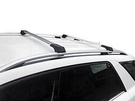 BMW 5 серия E-39 1996-2003 гг. Поперечены на рейлинги без ключа (2 шт) Черный