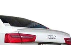 Audi A6 C7 2011-2017 гг. Спойлер (под покраску)