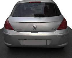 Peugeot 308 2007-2013 рр. Хром планка над номером (нерж.)