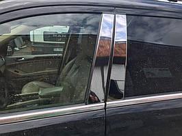 Mercedes GL klass X164 Молдинг дверних стійок (6 шт, нерж)
