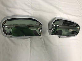 Honda Civic Sedan VII 2001-2006 рр. Накладки на дзеркала (2 шт., пласт.)