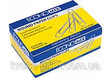 Скрепки круглые Economix; 25 мм / 100 шт