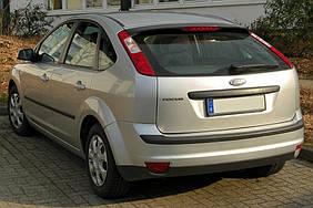 Ford Focus II 2005-2008 гг. Спойлер HB (под покраску)