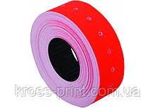 Етикетки-цінники Economix 21х12 мм червоні (1000 шт. / рул.), E21301-03