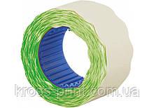 Етикетки-цінники фігурні Economix 26х12 мм зелені (500 шт. / рул.), E21304-04