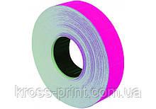 Етикетки-цінники Economix 23х16 мм рожеві (700 шт. / рул.), E21302-09