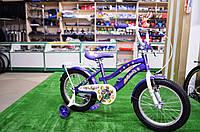 """Детский велосипед Veloz 16"""" фиолетовый №2, фото 1"""