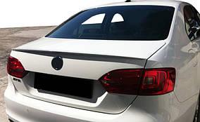 Volkswagen Jetta 2011-2018 рр .. Спойлер 2011-2014 (під фарбування)