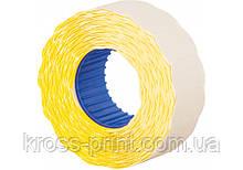 Етикетки-цінники Economix 22х12 мм жовті (1000 шт. / рул.), E22301-05