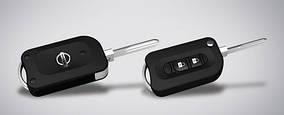 Nissan Almera 2012↗ рр. Flip key - ключ відкривачка