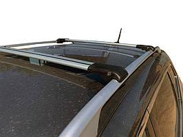 Nissan X-trail T32 /Rogue 2014↗ рр. Перемички на рейлінги під ключ (2 шт) Чорний