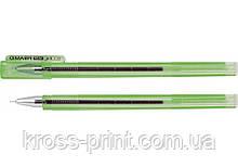 Ручка гелевая Economix PIRAMID зеленая