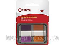 Стикеры-закладки Optima, 45х25, 50 шт.