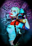 Піньята Харлі Квінн harley Harley Quinn Харлі Квін піньята паперова для свята барабан куля, фото 8