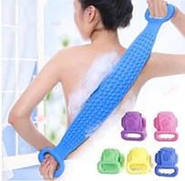 Силиконовая мочалка-массажер для тела bt670