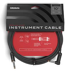 Инструментальный кабель D`Addario PW-AMSGRA-10 American Stage, Right to Straight (3m)