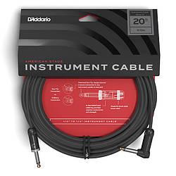 Инструментальный кабель D`Addario PW-AMSGRA-20 American Stage, Right to Straight (6m)