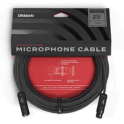 Кабель d'addario PW-AMSM-25 American Stage Microphone Cable (7.5 m)