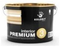 Интерьерная краска Kolorit Interior Premium 3