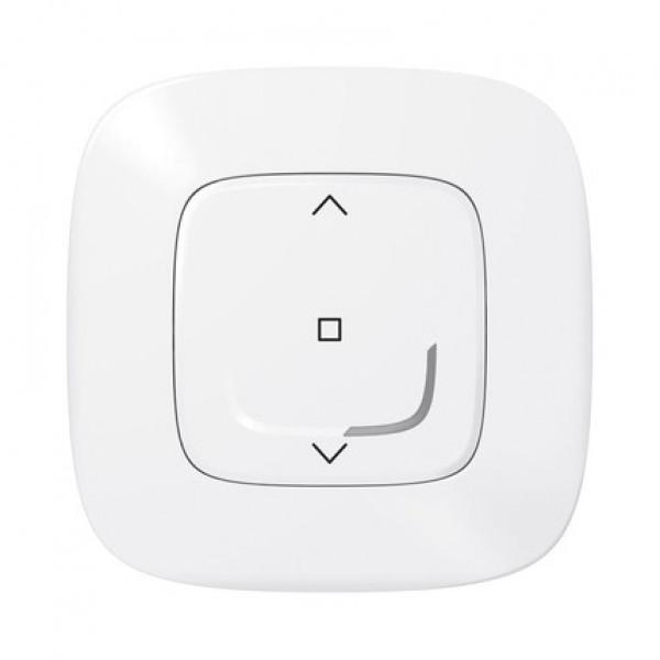 Розумний бездротовий вимикач Legrand жалюзі (Valena Allure with NETATMO) (Білий)