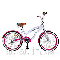 "Велосипед CRUISER 20"" T-22034 pink /1/"